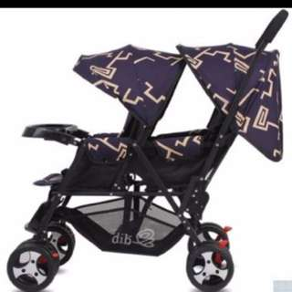BNIB Twin Tandem Strollers