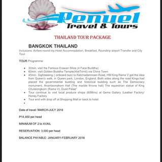 Thailand all in tour package