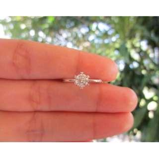 .50 Carat Diamond White Gold Engagement Ring 18k