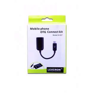 Mobile Phone OTG Connect Kit S-K07 for Android