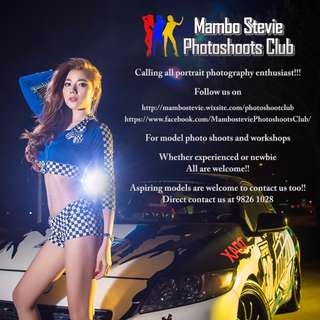 Model photoshoots & workshops for portraiture photography in Singapore