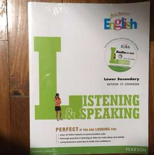 All About English, Listening & Speaking Lower Sec