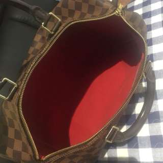 110% authentic LV speedy 30 bag ...