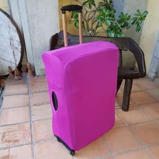 New Large Magenta Luggage Cover