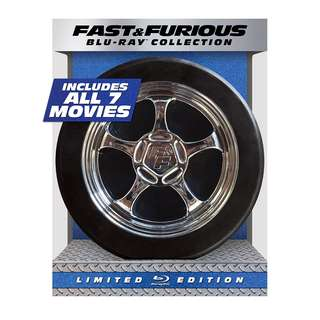 Fast & Furious 1-7 Collection Limited Edition Blu-ray
