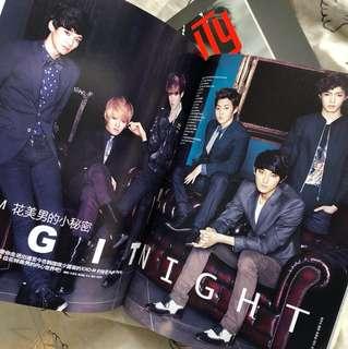 EXO EXO-M 2014 Ceci 雜誌