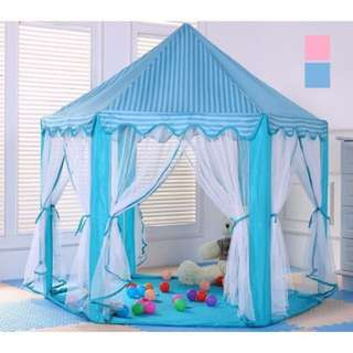 Children Kids Play Tent Fairy Little Prince Princess Castle Playhouse