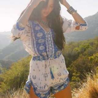 Spell Coyote Playsuit