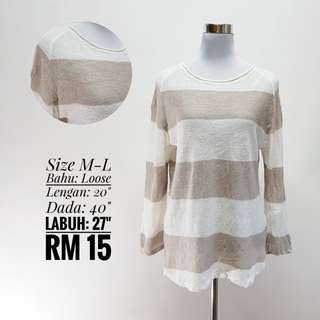 Long Sleeve Knitted Top