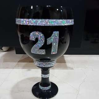 21st birthday goblet
