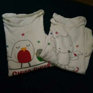 Unisex Toddler onesie longsleeve