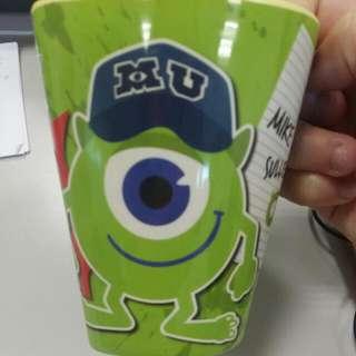 迪士尼怪獸大學愛心杯子