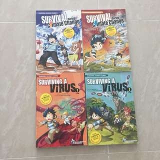Survival story comics