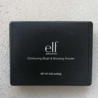 elf contouring blush and bronzing powder in st. lucia