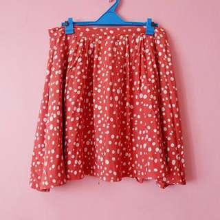 Forever 21 Polka Dots Skirt