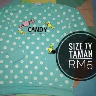 Shirt Size 7Y