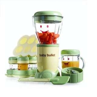 [FREE POSTAGE] Baby bullet food processor blender