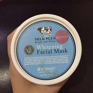 Beauty whitening facial mask