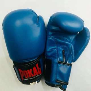 Pokal PVC Boxing Gloves (blue)