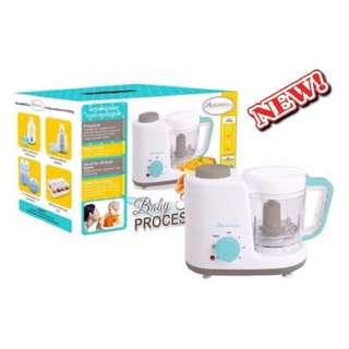 [FREE POSTAGE] Original autumnz 2 in 1 baby food processor steam & blend + FREE GIFT