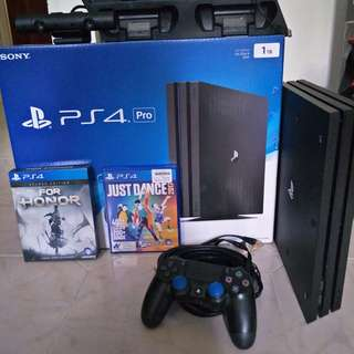 PS4 for sales (Used but New) - Price Strictly No Nego only for serious buyer