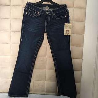 TRUE RELIGION Johnny Halston Jeans Size 29