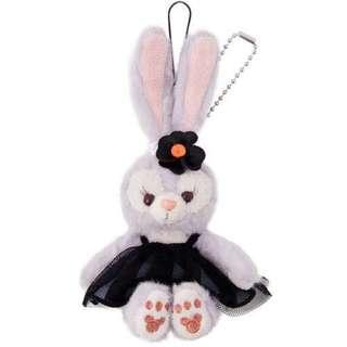 🚚 東京迪士尼萬聖節限定史黛拉兔坐姿吊飾