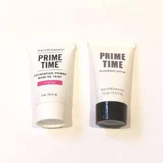 bareMinerals Prime Time Original 妝前底霜 sample tester primer foundation base