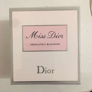 Miss dior absolutely blooming 100ml eau de Parfume