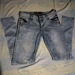 BNY Acid Wash Skinny Jeans
