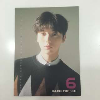 minhyun cc calendar card wanna one nothing without you ONE ver