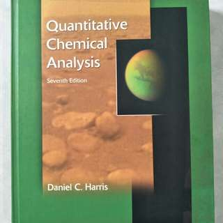 Quantitative Chemical Analysis (Seventh Edition)