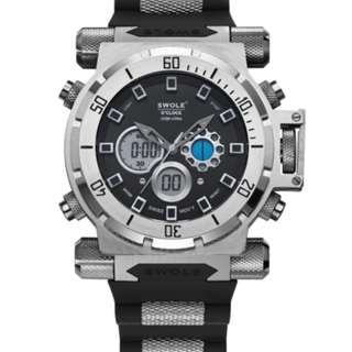 AUTHENTIC NEW SWOLE 50MM Watch