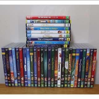 $5 Disney dvds