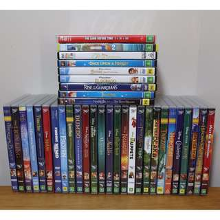 $5 Disney Dvd's