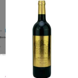 Chateau de Bessanes Bordeaux 2011. Red Wine. Product of France. 750 ML