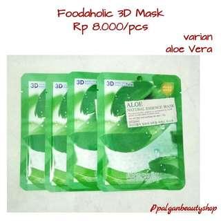 Foodaholic 3D Mask