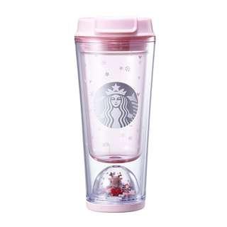 [PO] Starbucks Korea Christmas Rudolph Waterball Tumbler