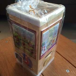 小熊維尼80週年紀念書籤收藏盒