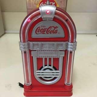 全新絶版可口可樂收音機 Coca Cola Juke Box Radio