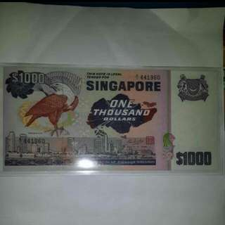 Christmas Sale $1000 Note Bird Series