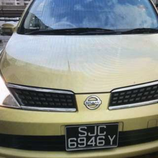 Nissan latio 1.5a sports edition