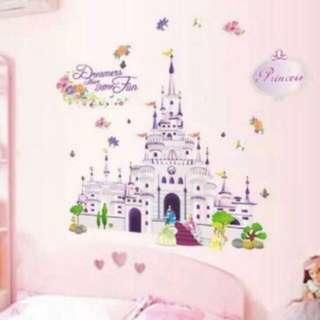 Wall Decal Set-Princess series