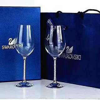 Swarovski水晶紅酒杯
