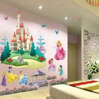 Wall Decal-Princess Series