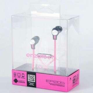 Pink Enzatec Earphone
