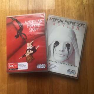 American Horror Story DVDs