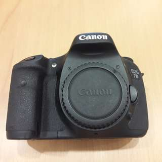 Canon 7D with Lens 17-50mm F/2.8