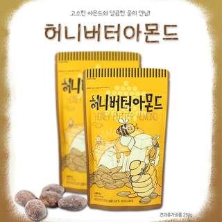 Honey Butter Almond 250g