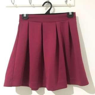 Velvet Skirt Size 10
